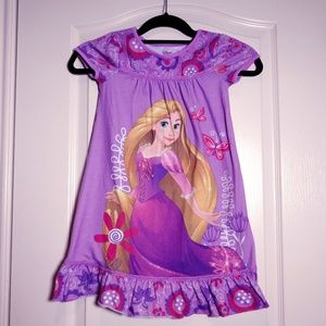 3 For $25! DISNEY STORE Rapuzel Nightgown 5/6